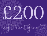 Yoga Bliss Gift Certificates Tokens and Vouchers | £200