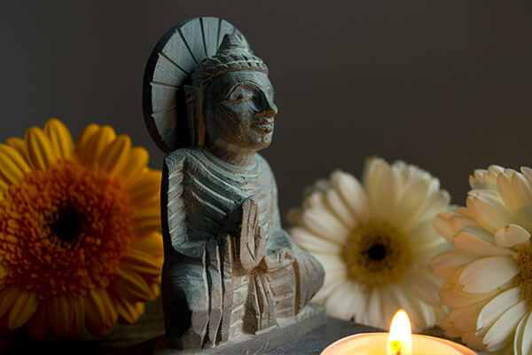 Buddha Tea Light Holder Meditation And Relaxation