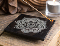 Soapstone Mandala Incense Burner
