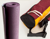 The Street Yoga Kit - Sun Salutation Yoga Pilates Mat + Street Yoga Mat Bag