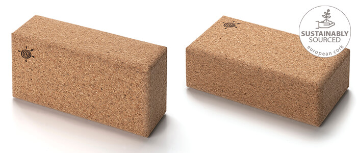 Natural Cork Yoga Brick | Kurma