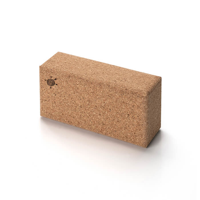 Natural Cork Yoga Brick | Kurma #2