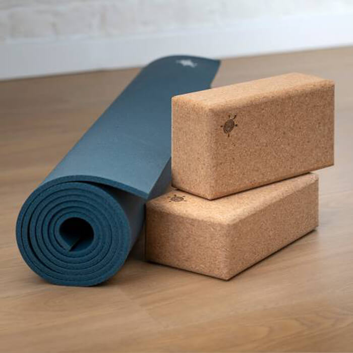 Natural Cork Yoga Brick | Kurma #4