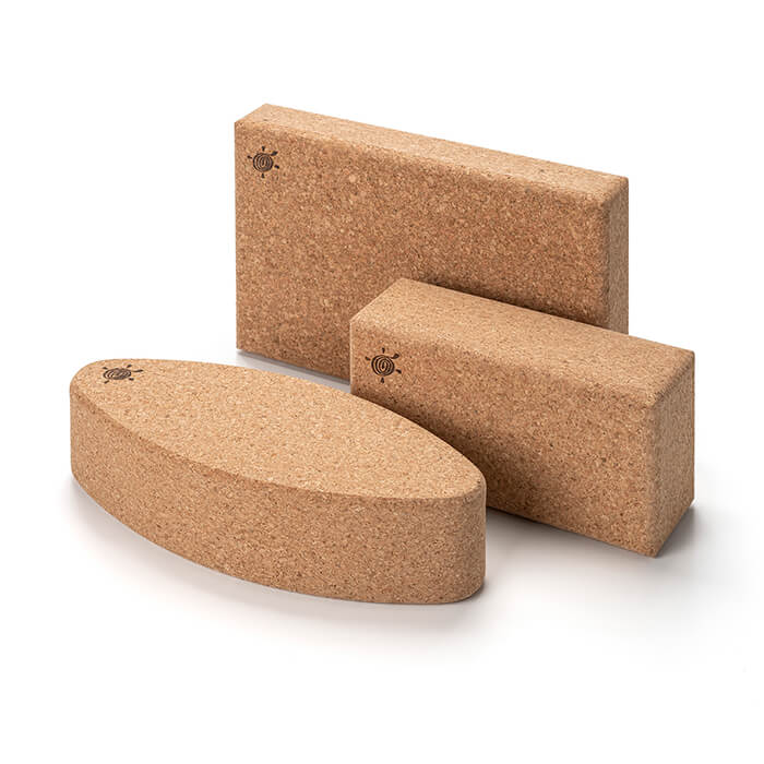 Natural Cork Yoga Brick | Kurma #5