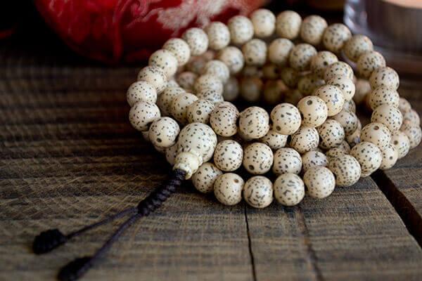Mala Beads Lotus Seed Mala Traditional 108 Beads Japa