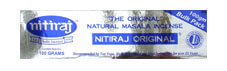 Nitiraj Original Incense 100 gram box