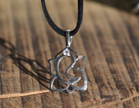 Clarity Ganesh Silver Necklace