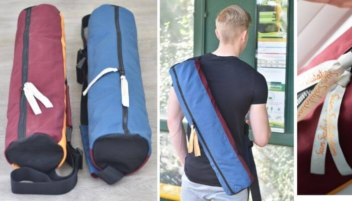 Sun Salutation Street Yoga Mat Bag #4