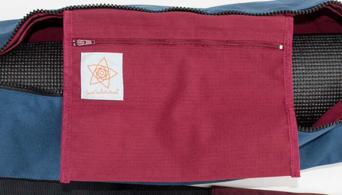 Sun Salutation Street Yoga Mat Bag #7
