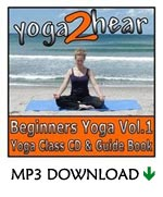 yoga2hear Instructional MP3 | Beginners Yoga Volume 1