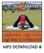 yoga2hear Instructional MP3 | Beginners Yoga Volume 2