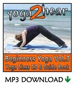 yoga2hear Instructional MP3 | Beginners Yoga Volume 3