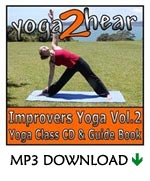 yoga2hear Instructional MP3 | Improvers Yoga Volume 2