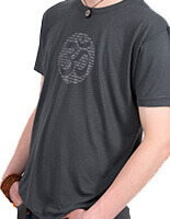 Men's Bamboo Jersey T-Shirt with Om Mantra design