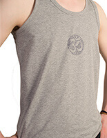 Om Mantra Yoga Vest for men