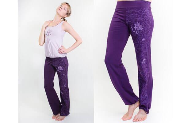 Mauriom Om Organic Yoga Pants For Women By Yogamasti