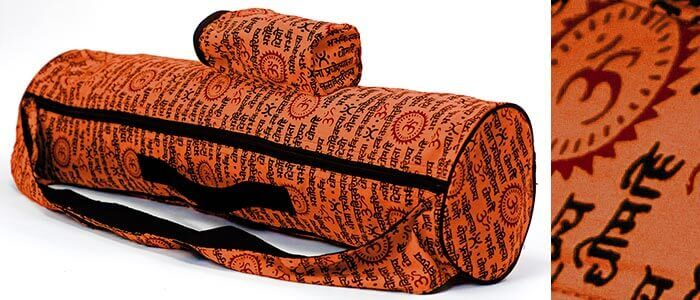 Om Yoga Mat Bag by Yogamasti