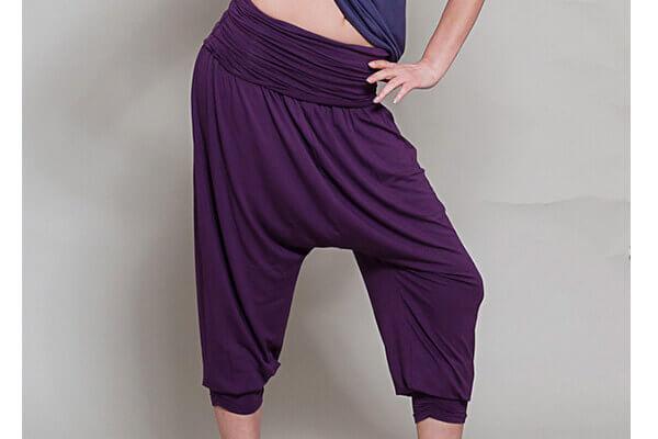 e94c71aeebd24 Comfort Flow Yoga Harem Pants by Yogamasti | Yoga Bliss