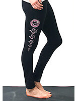 Om Asana Yoga Leggings | Yogamasti