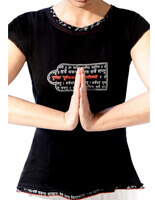 Yogamasti Organic Mantra Yoga Top